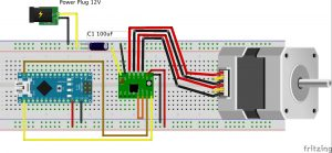 nema17 A4988 Arduino Nano_bb